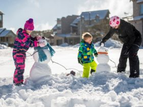 Snow play at your doorstep