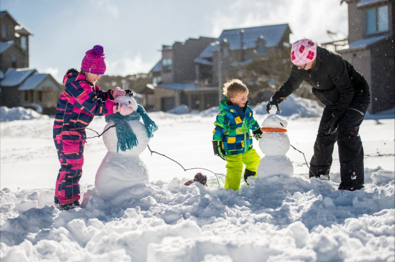 Snow play at your doorstep