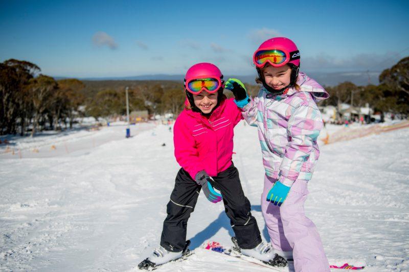 Learn to ski at Dinner Plain's Snow Park