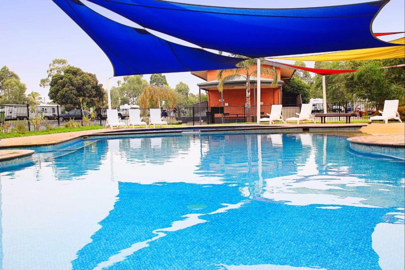 Pool at Discovery Parks - Melbourne