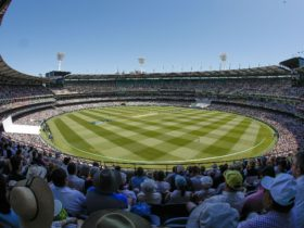 Always a big crowd at the MCG at the Boxing Day Test