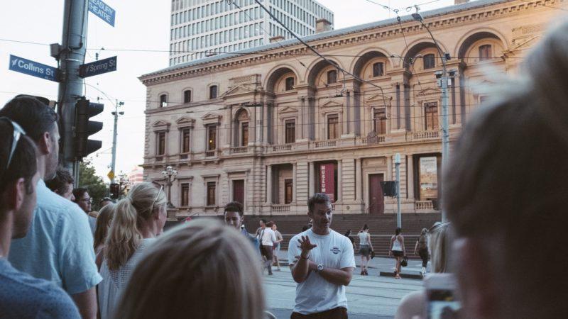 Melbourne Laneways Tour - Old Treasury