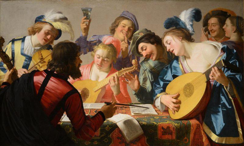 Gerrit van Honthorst — The Concert