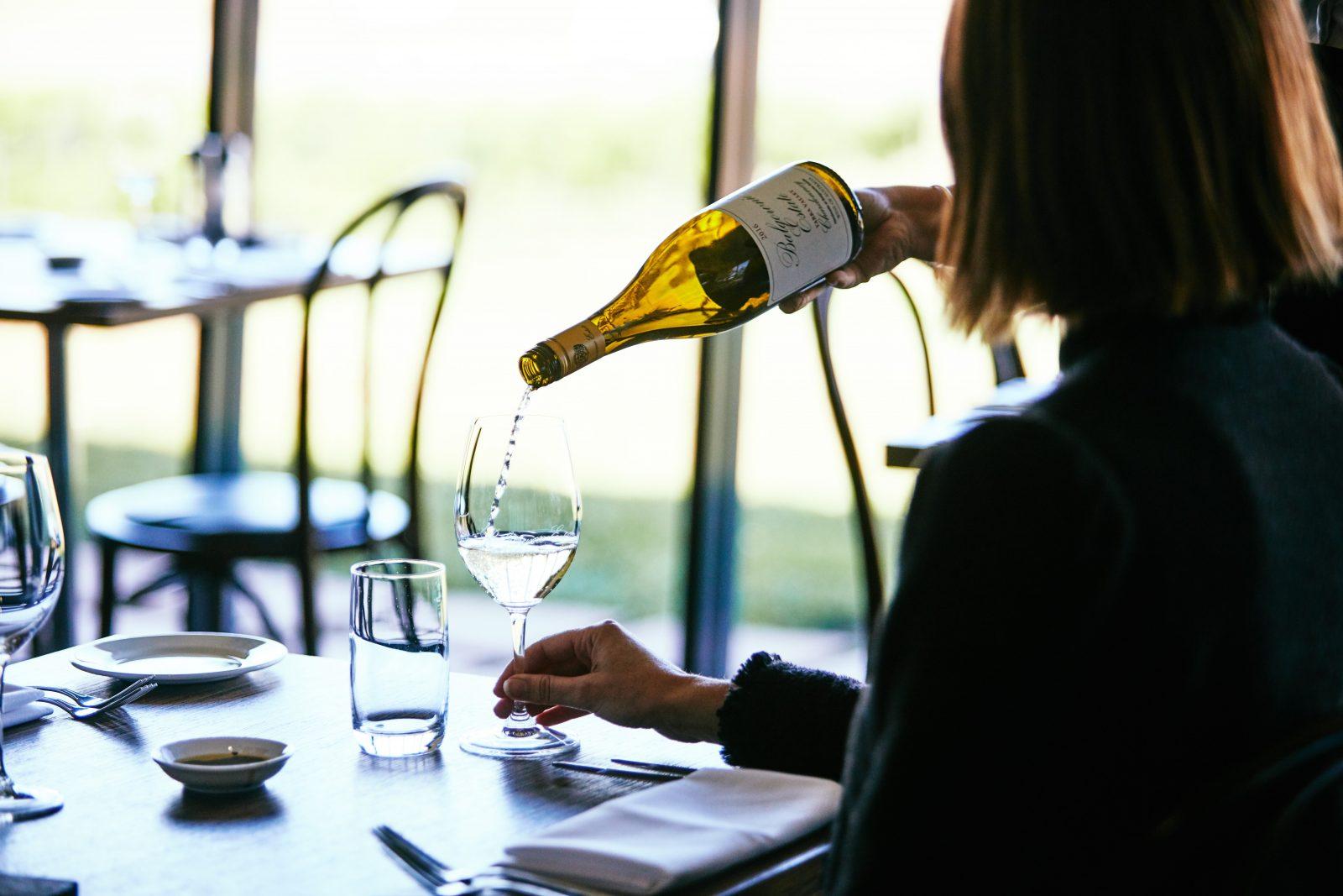 Wine at Rae's Restaurant