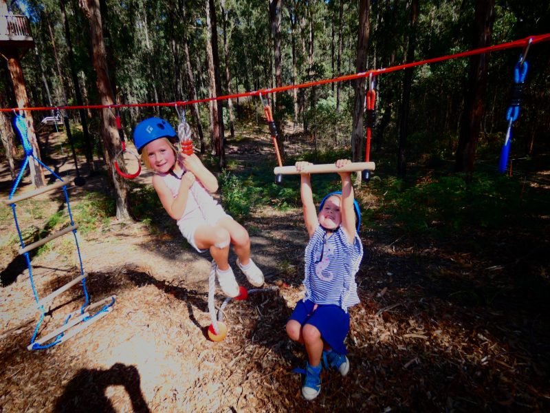 Easter School Holiday Fun at Kinglake Forest Adventures