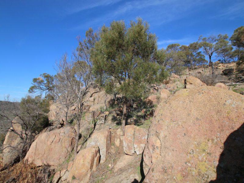 Rocky hillsides