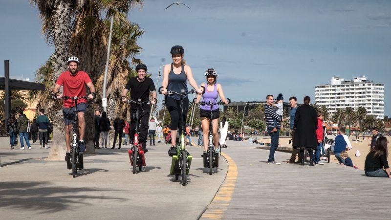 ElliptiGO Experiences Scenic Ride along The Bay Trail, St Kilda