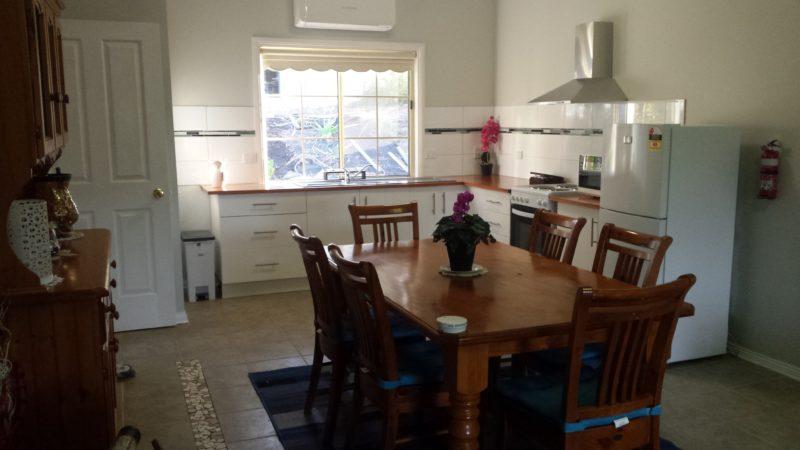 Emu Lodge Country Retreat Dining Area