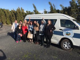 Group enjoying a Phillip Island sightseeing tour