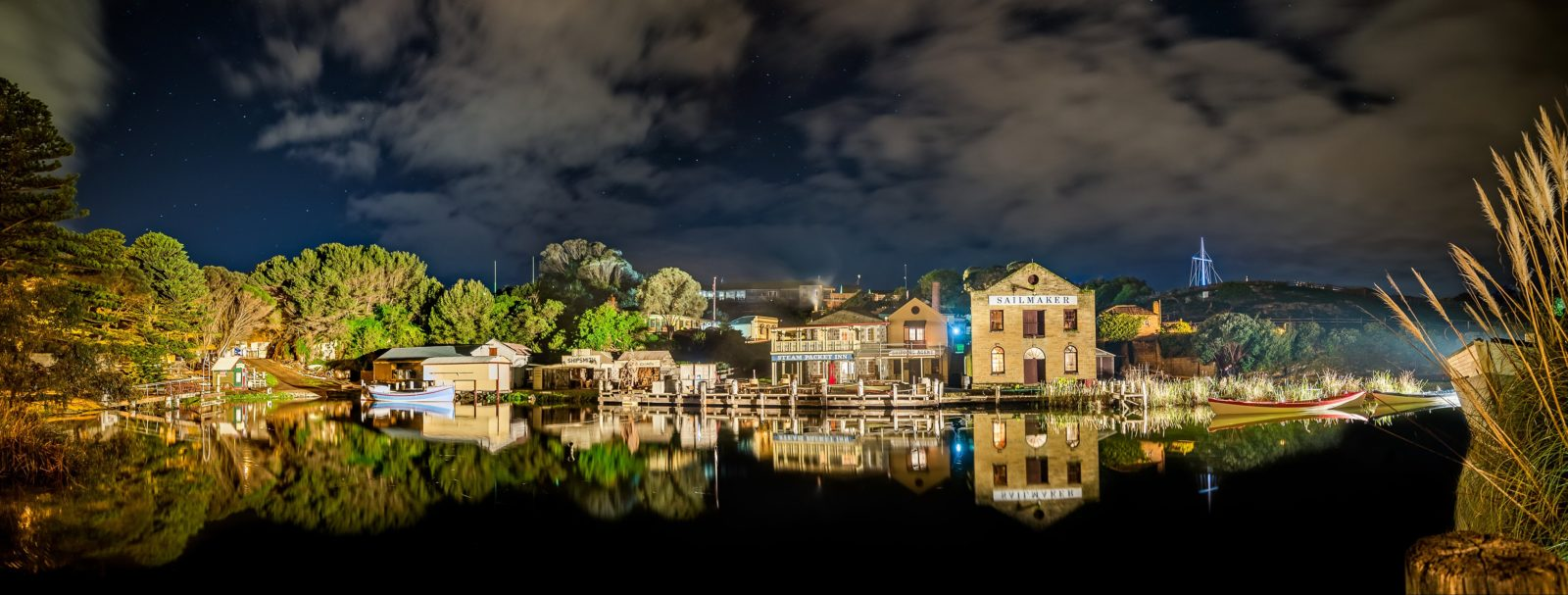 Flagstaff Hill Maritime Village and Shipwrecked Sound and Laser Show