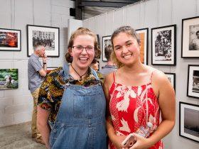 Cousins Eilish & Tiana Watson enjoyed the opening