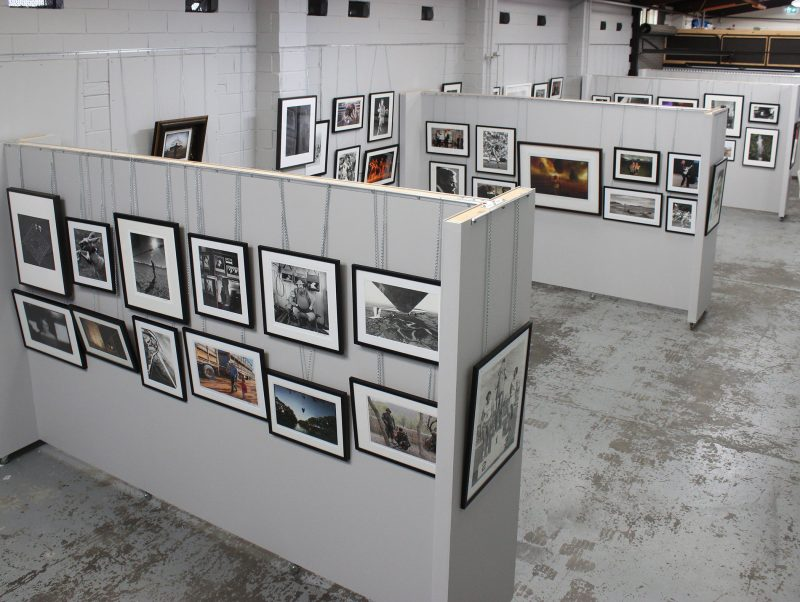 Our gallery set up for our opening exhibition Masters of Australian Photojournalism