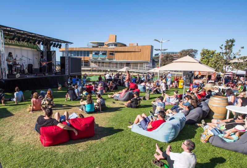 Frankston Waterfront Festival stage
