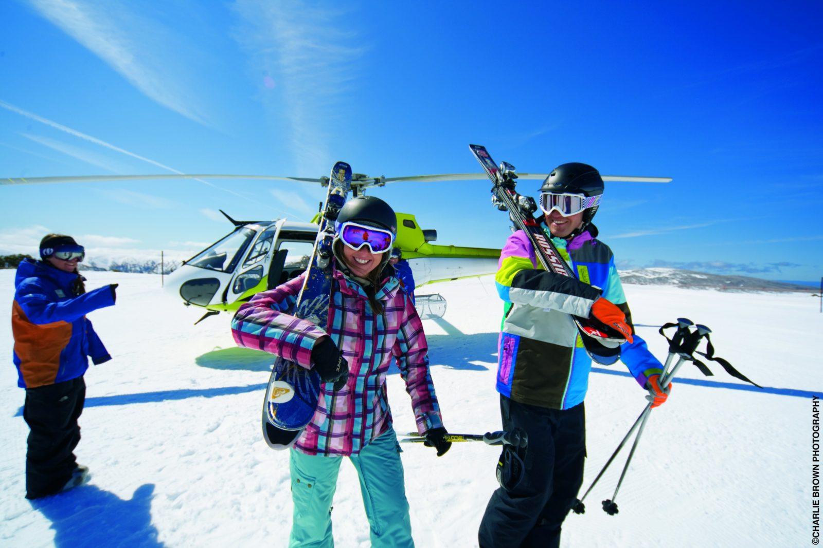 Falls Creek Heli-Skiers