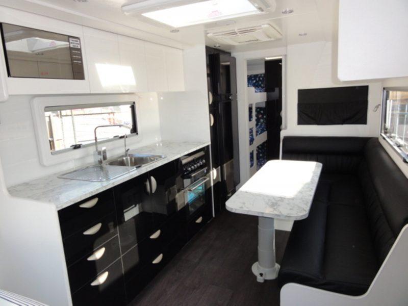 Gateway Caravans Interior Kitchen