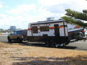 Gateway Caravans on van