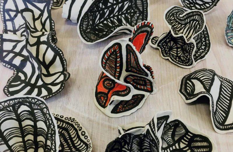 Geelong Art Space - Ceramic sculptural forms