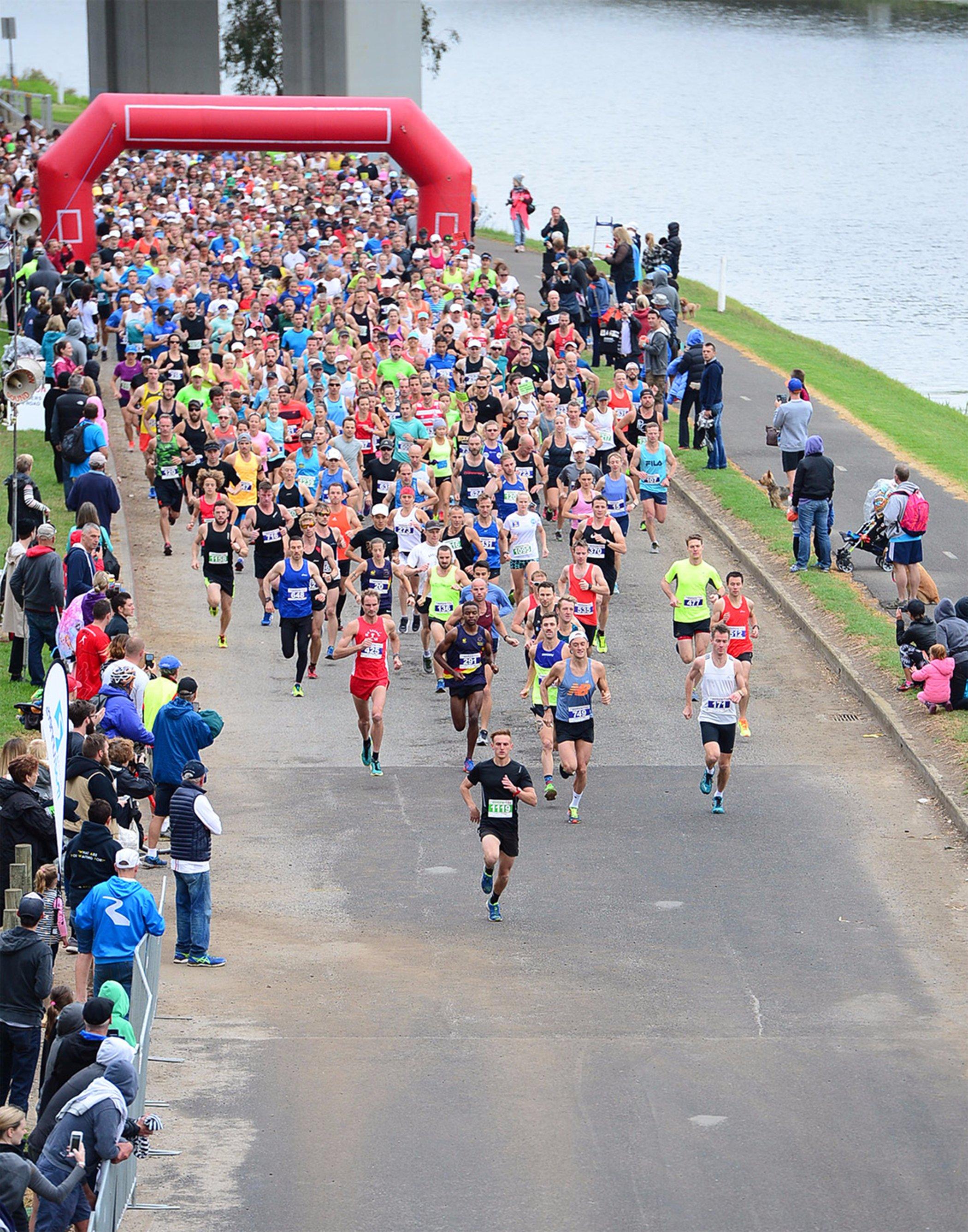 Geelong Cross Country Anglesea 8 Kilometre Footrace