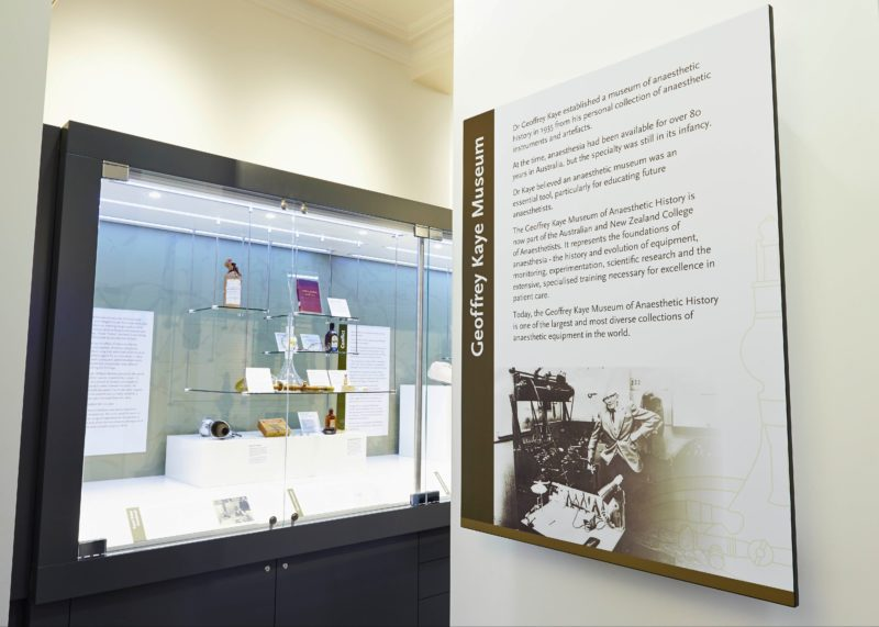 Museum display - introduction