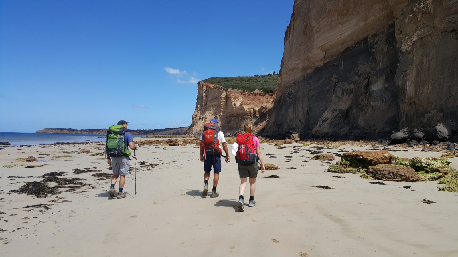 Where dramatic cliffs meet the beach