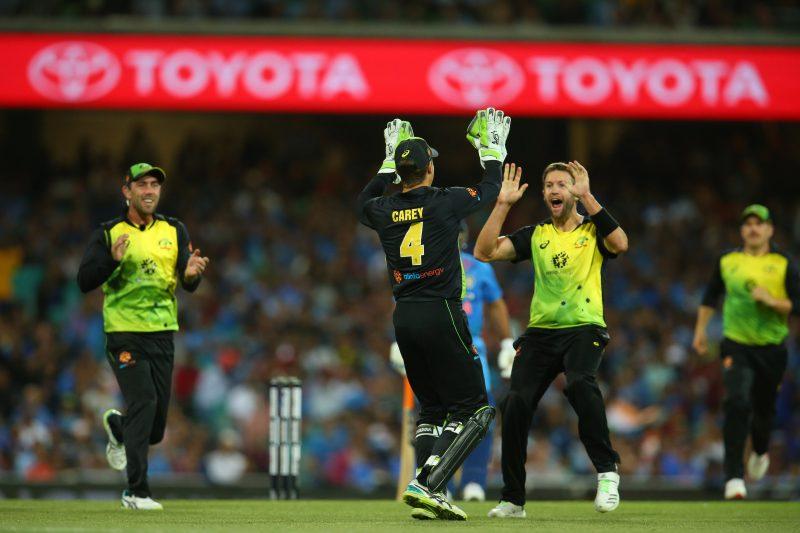 Gillette T20 International: Australia vs India