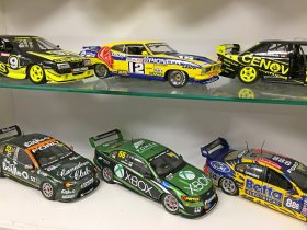 Mostly Australian racing cars collections