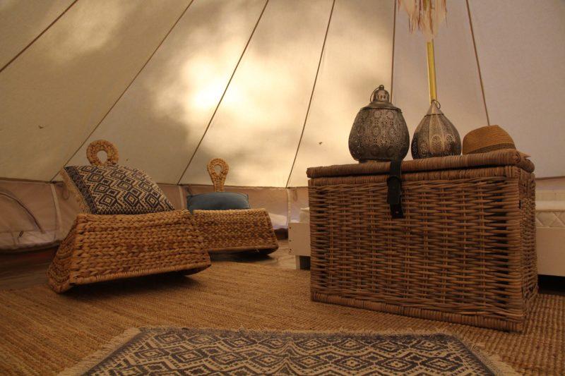 Mediteranean Isles Bell Tent interiour