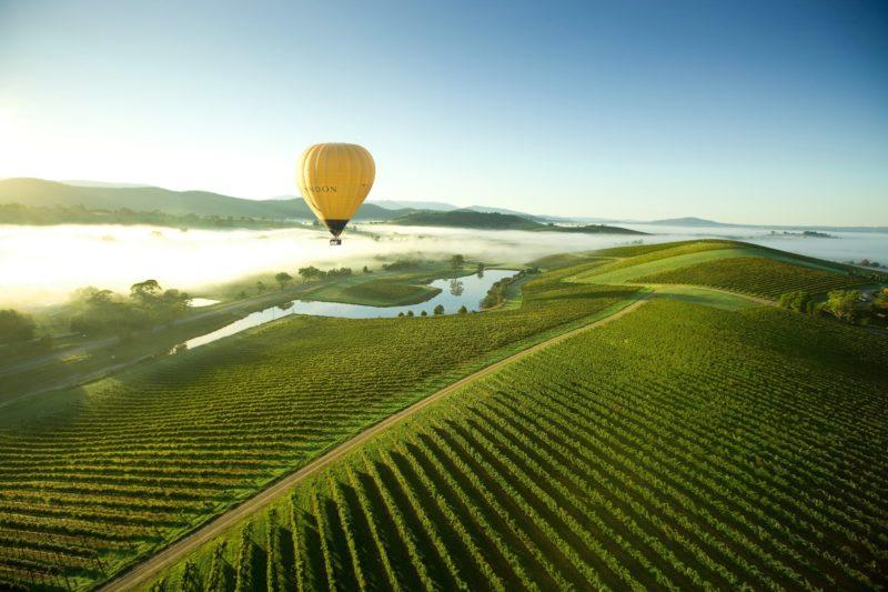 Yarra Valley ballooning