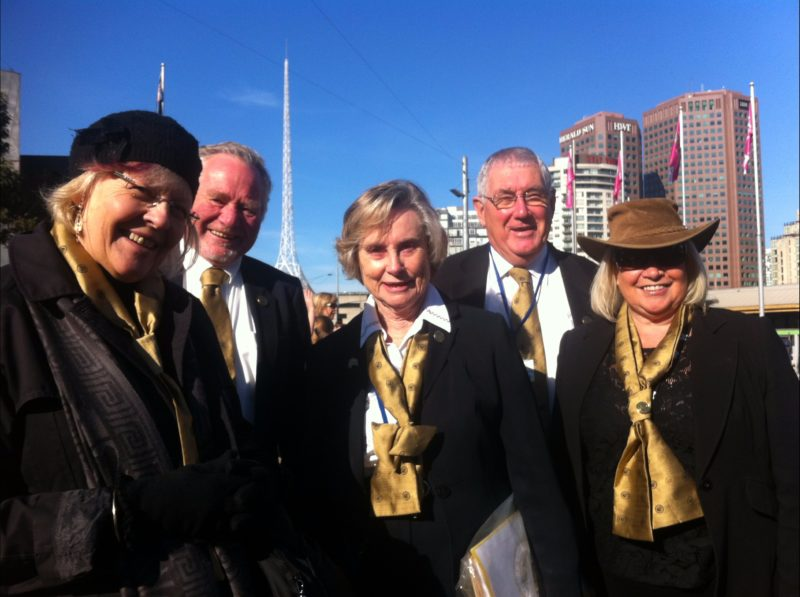 Golden Mile tour guides are fully accredited