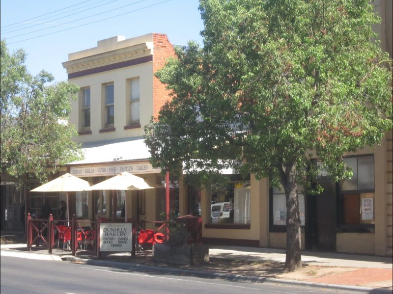 Main Street of Dunolly - Goldfields
