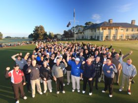 GOLFSelect clients at Royal Melbourne