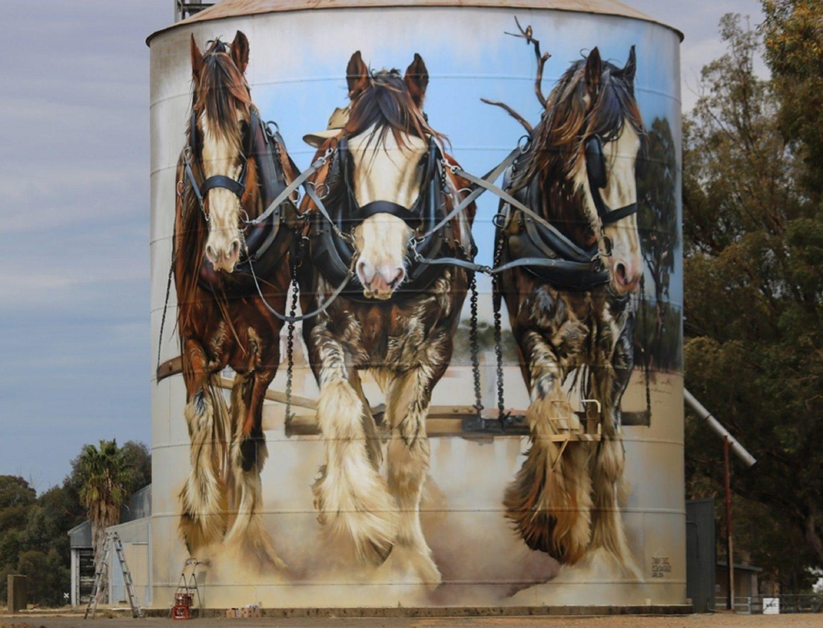 North East Victoria Silo Art