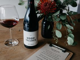 Our new release 2017 Woori Yallock Pinot Noir. Example of our bistro menu