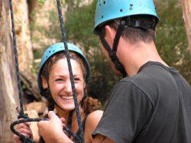 Good times rock-climbing!