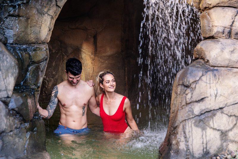 Deep Blue Hot Springs