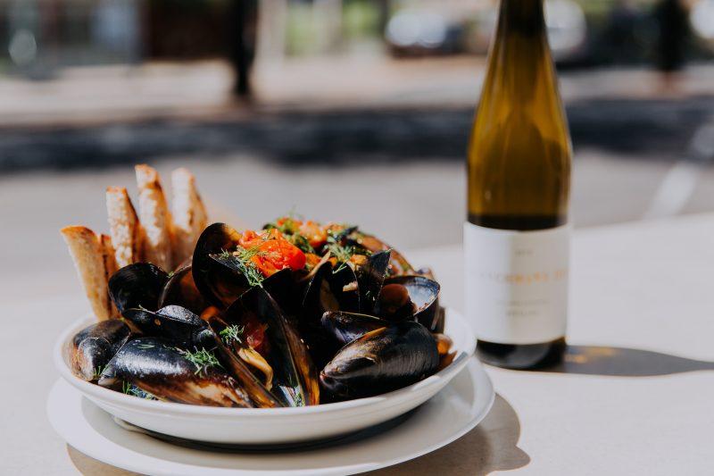 Grand Hotel Portarlington mussels