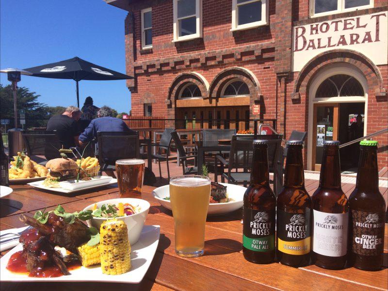 Beer Garden, Food and Craft Beer