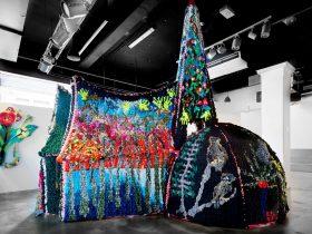 Charlotte Haywood, Green Asylum, reclaimed textiles