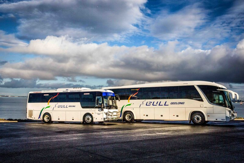 Gull bus airport transfers charter hire