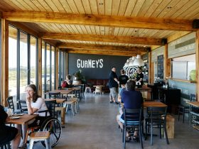 Interior view of Gurneys Cider