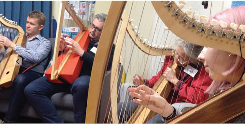 Harps for Happiness