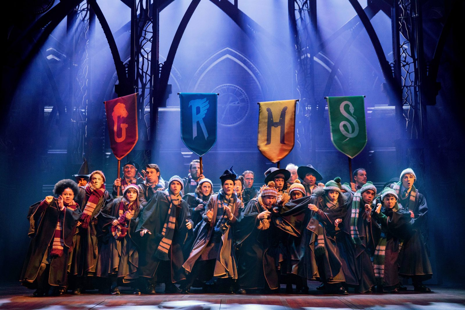 The Australian company of Harry Potter and the Cursed Child.