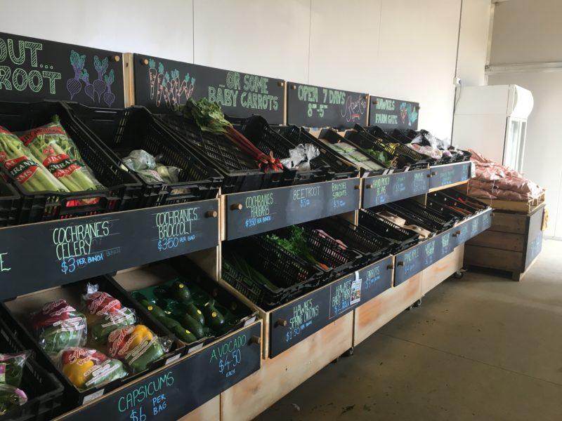 Hawkes Vegetables and Farm Gate - Seasonal produce