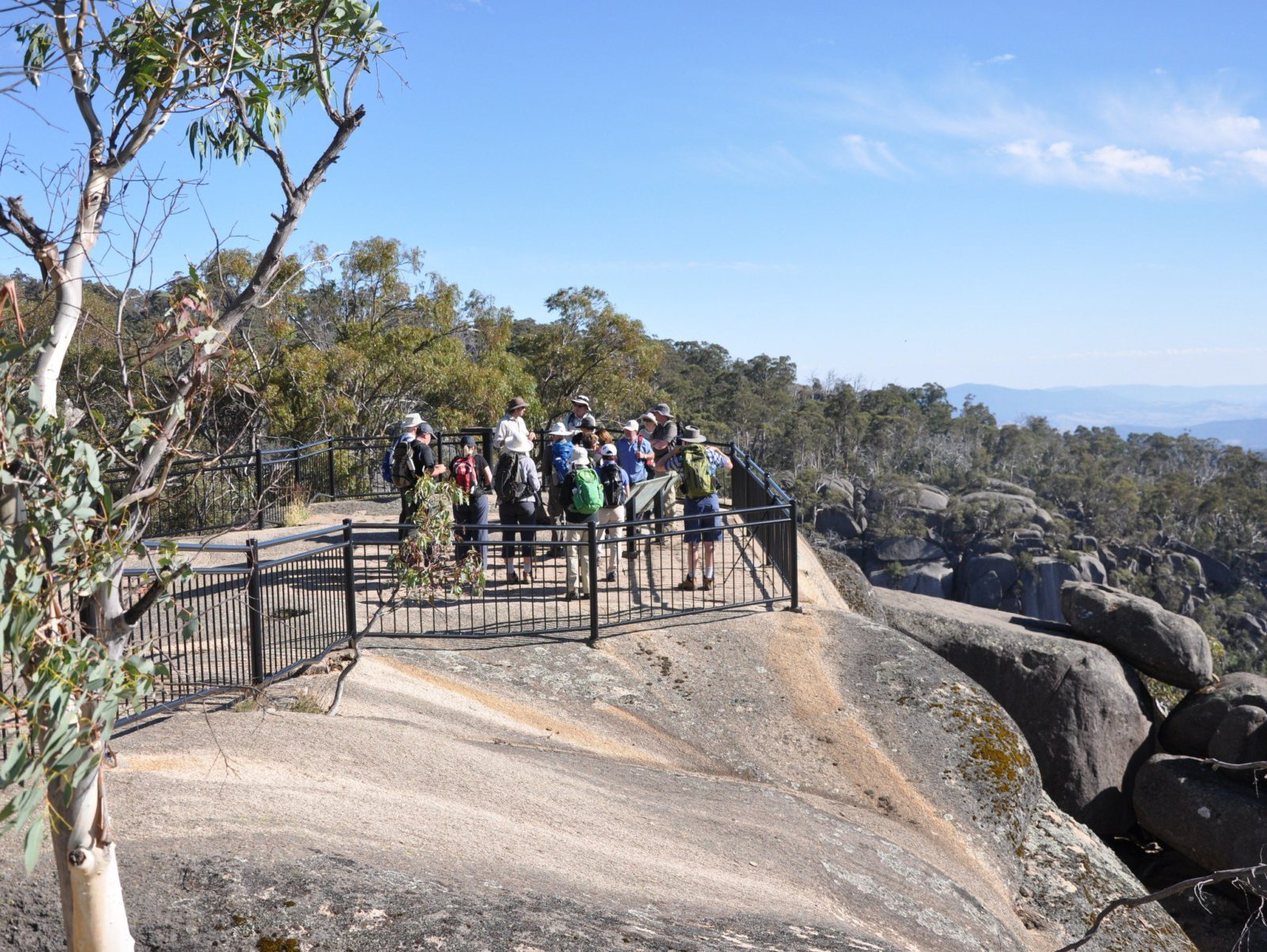 Hiking on Mount Buffalo
