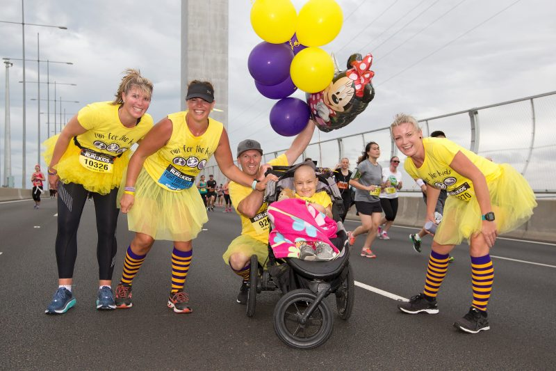 2018 Run for the Kids on the Bolte Bridge.