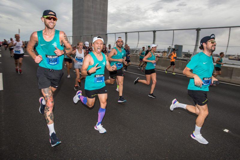 2018 Run for the Kids over the Bolte Bridge.