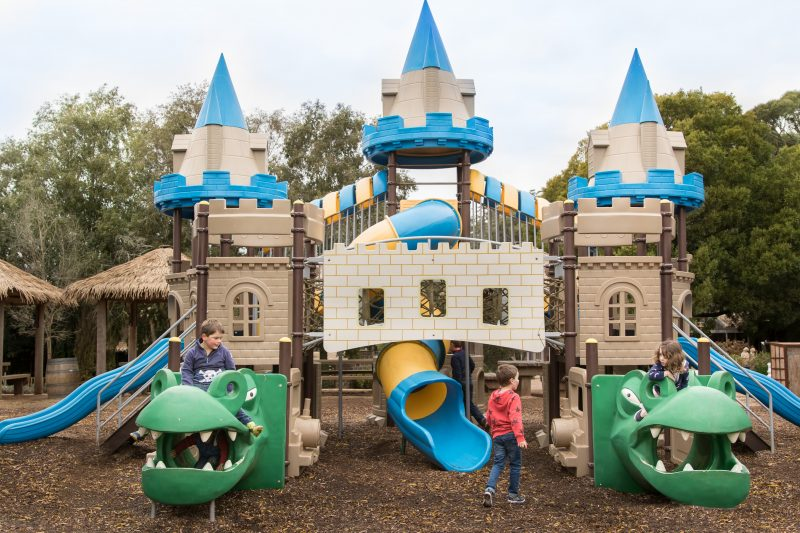 Kryal Castle playground