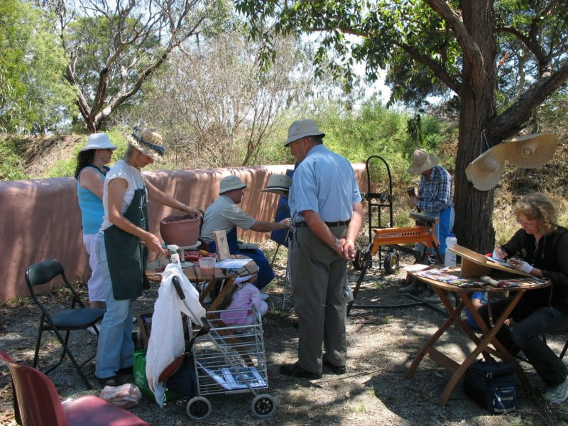 Artists at work 2007
