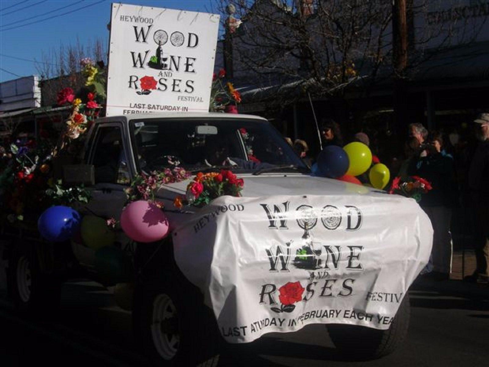 Wood Wine Roses Festival