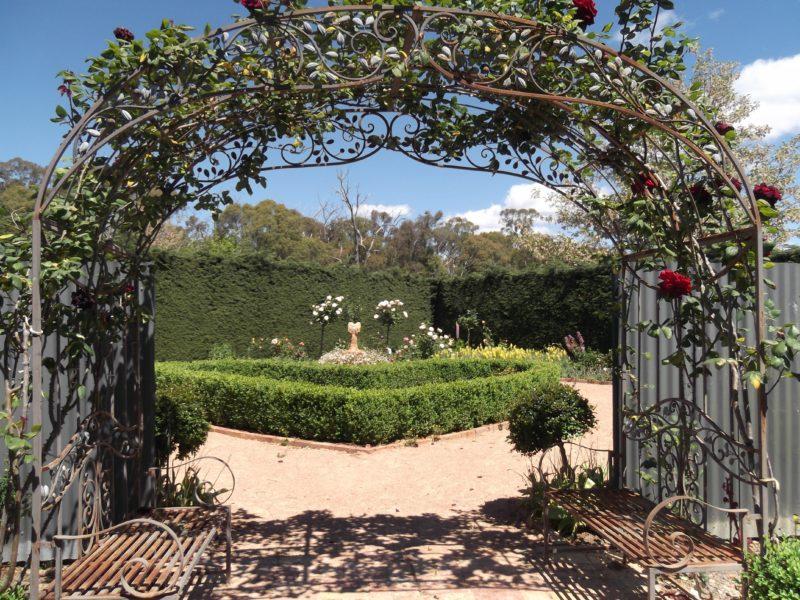 Love heart garden